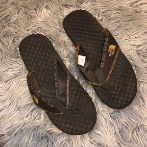 Men's north face thong sandals 12 flip flops